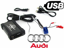 AUDI TT USB Adattatore Interfaccia ctaadusb004 AUTO AUX SD MP3 input JACK 2005 in poi