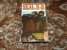 SEAL H2H: Hand To Hand (VHS, 2000) Rare OOP HTF Navy Unarmed Combat *NOT ON DVD*