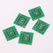 5pcs Adapter Board QFN44 QFP48 QFP44 PQFP LQFP DIP48 Turn to DIP