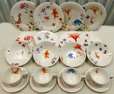 Rare Disney Winnie the Pooh Dinnerware Set including Tigger, Eyore, and Piglet