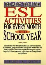 Ready-to-Use ESL Activities for Every Month of the School Year-ExLibrary