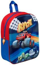 NEW BLAZE AND THE MONSTER MACHINES JUNIOR SCHOOL BAG RUCKSACK BACKPACK BOYS KIDS