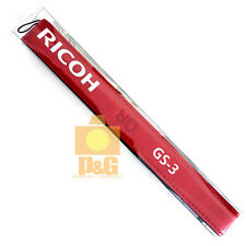 New Ricoh GS-3 GS3 Leather Neck Strap with GR Logo Limited Red Edition GR GR2