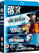 Lone Survivor / Zero Dark Thirty / Safe House / Green Zone / Contraband Blu-ray