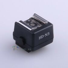 HD-N3 Flash Hotshoe Adapter For Sony Camera to Nikon Canon Flash PC Socket