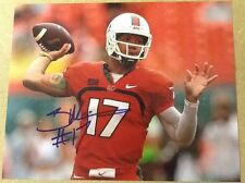 Stephen Morris Signed 8x10 Football Photo W / COA  & Proof Miami