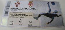 Ticket for collectors EURO q * Portugal - Poland 2007 in Lisboa