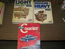 1980 FORD TRUCK LIGHT MED/HEAVY COURIER TRUCKS SHOP SERVICE REPAIR MANUALS