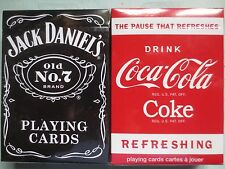 Bicycle JD and Coke Playing Cards 2 Deck Set - SEALED