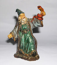 Tudor Rose Miniatures (Norwich) - Figurine of a Standing Wizard Holding A Snake.