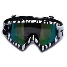 Lunettes Goggle Eyewear Glasses de Protection Miroir Réfléchissant Moto Cross