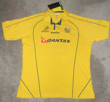 KooGa GOLD TRADITIONAL JERSEY WALLABIES 2011 SS AUSTRALIA RUGBY GEAR 3XL POLO