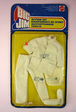 BIG JIM - MATTEL'S SAMPLE PACKAGE FOR PARAMEDIC OUTFIT - NRFP -  VERY RARE!