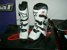 Alpinestar Tech 3 s White/Black Gr. 2 / 34 - Kinder Crossstiefel - Boots