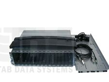 """EMC² CX4 CLARiiON 4P-DAE 15 BAY 3.5"""" Disk Enclosure with rails cables & bezel"""