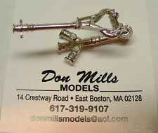 Portable Deck Gun 1/32nd Scale for Fire Models by Don Mills Models
