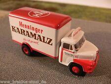 1/87 Brekina MAN 520/635 Koffer Henniger Karamalz Frankfu. 45035