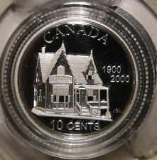 1900 - 2000 Canada Desjardins Credit Union 10 Cents Sterling (92.5%)Silver Coin
