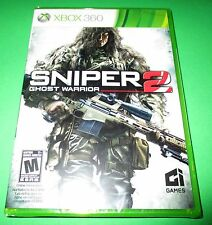 Sniper Ghost Warrior 2 - Xbox 360  - Factory Sealed!! Free Shipping!!
