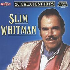 20 Greatest Hits by Slim Whitman (CD, Aug-2002, Teevee Records)