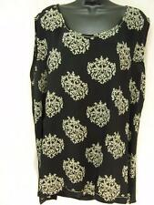 T423~TIENDA HO~Black Green~BASIC TANK TOP~Nothing Matches~RAYON~floral~LOVELY~1X