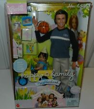 ALAN & RYAN IN TRUCK  HAPPY FAMILY BARBIE DOLL 2003  Midge husband causasian L4