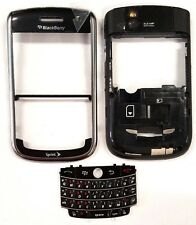 Blackberry Tour 9630 Sprint Middle And Front Housing Key Pad Black