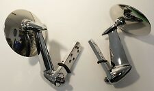 1953 - 1966 Ford Pickup Truck Chrome Outside Rearview Side Mirror Set PAIR