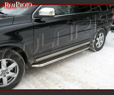 VOLVO XC90 07-13 SIDE STEPS, RUNNING BOARDS + GRATIS!!! / STAINLESS STEEL