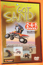 BRAND NEW BLUE PLANET Got Sand? Exreme Insane ATV 2-4-1 DVD very Best Action