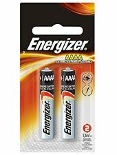 3 Pack Energizer Alkaline AAAA Batteries 1.5 v Replaces LR8D425 MN2500 2 Each