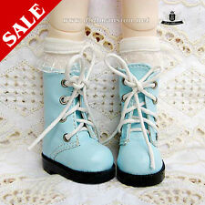 1/6 BJD Shoes Yosd Dollfie DIM Lolita blue Boots Luts AOD DOD SOOM MID EID Shoes