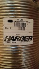 Harger 2T 2awg Single Soft-Drawn Solid Tinned Copper Grounding/Bus Bar Wire/10ft