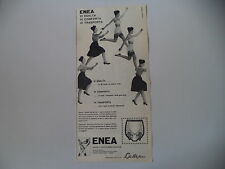 advertising Pubblicità 1960 GUAINA ENEA