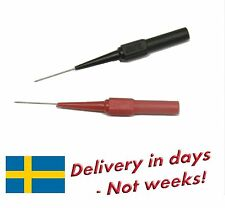 2 pcs Piercing Needle Test Probe for 4 mm Banana Socket - Fast delivery