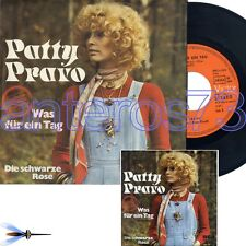 "PATTY PRAVO ""WAS FUR EIN TAG"" RARO 45GIRI IN TEDESCO"