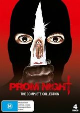 Prom Night - The Complete Collection (DVD, 2011, 4-Disc Set) -  New - Region 4