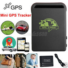 Mini GPS GSM GPRS Tracker Car Realtime Vehicle Spy Tracking Device Locator TK102