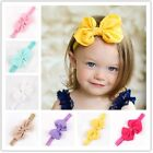 Baby Girls Toddler Puffy Bow Hairband Soft Elastic Hair Accessorie Band Headband