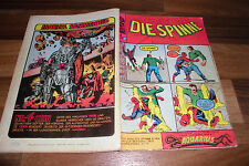 SPINNE / SPIDER-MAN  # 6 -- Marvel / Williams / Stan Lee  1.4.1973