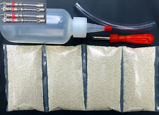 Tire Balancing Beads - 4 bags of 5 oz (20 total) + FREE Applicator Kit + 4 cores