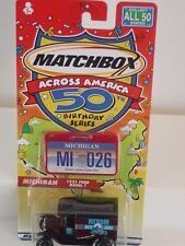 MATCHBOX ACROSS AMERICA 50TH BIRTHDAY MICHIGAN #26 1921 FORD MODEL T