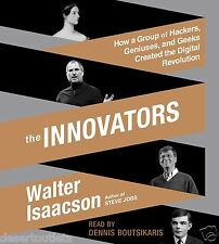 NEW! The Innovators Walter Isaacson Hackers, Geniuses & Geeks Unabridged 15 CDs