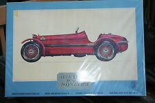 Pocher Torino Alfa Romeo 8C 2300 Monza 1931 Model Kit Factory Sealed 1/8 Scale