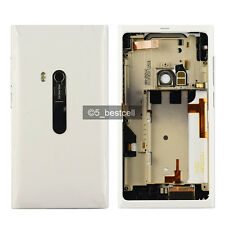 New White Full Housing Back Cover Case For NOKIA N9 N9-00 SIM Tray and USB Door