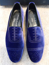 $795 BNIB ALBERTO MORETTI Arfango ITALY Purple Loafers EU 43.5 UK 9.5 US 10.5 11