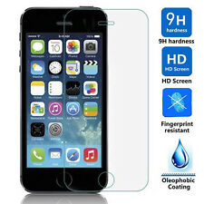 Premium Clear Tempered Glass Screen Protector Film Guard for Apple iPhone 5/5S