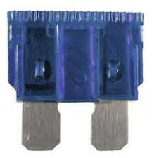 PACK OF 100 ATO ATC 15A 15AMP AUTOMOTIVE STANDARD CAR BLADE FUSES BLUE  FUS1115
