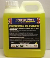 1 LITRE F-F DRIVEWAY AND PATIO CLEANER BY GUNK REMOVES OIL STAINS FROM DRIVEWAYS