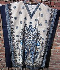 100% Cotton Caftan   New- One Size fits all